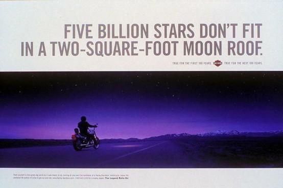 Five Billion Stars...Harley Davidson